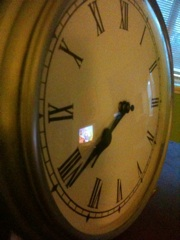tick...tock...tick...tock...